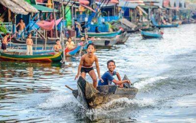 Field Trip on Tonle Sap lake