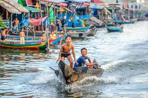 Field Trip on Tonle Sap lake